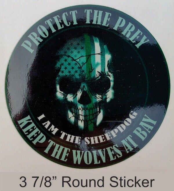 Thin Blue Line Protect The Pray Decall Sticker Blue Lives Matter