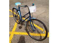 Classic Ladies Bike Fully Serviced Reynolds Bluemells