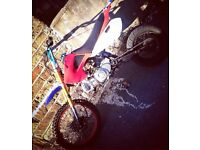 Loncin 125cc pitbike