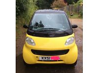 Smart Car City Coupe (Spares or Repair) £30 road tax