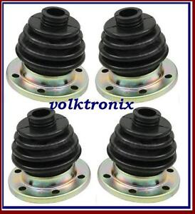 (Set x 4) CV Joint Axle Boot VW Volkswagen Bus Van Vanagon Transporter 211501149