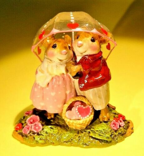 WEE FOREST FOLK M-639c Sharing Sweethearts - Limited until April 1st, 2020