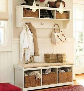 Pottery Barn mudroom set - BENCH SOLD, COAT RACK STILL AVAILABLE Hillarys Joondalup Area Preview