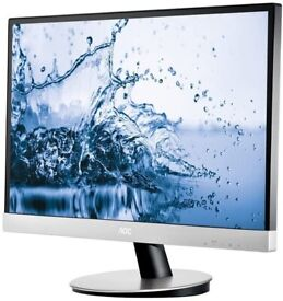 BARGAIN AOC 27 inch LED Gaming Monitor Screen Display with built-in speakers