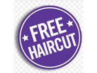 FREE HAIRCUT- TONI AND GUY