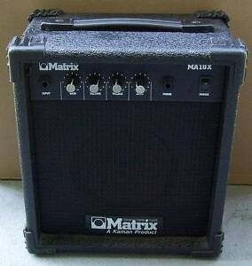 Matrix Small Guitar Amp, As Is