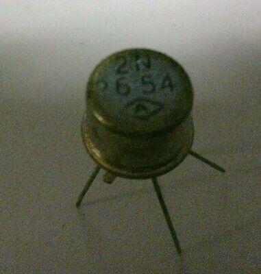 Vintage Nos 2n2654 Germanium Pnp Low Power Transistor - Unused