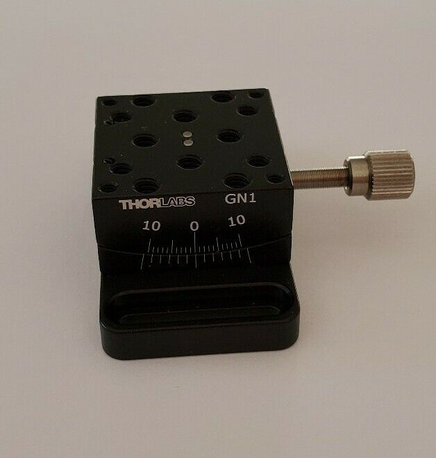 """Thorlabs GN1 Small Goniometer 1"""" Optical stage Optics"""