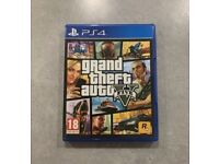 Grand Theft Auto 5 for Playstation PS4 - As new