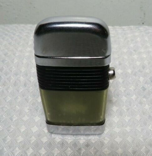 Vintage Scripto Vu Floating Lighter With Black Band Crown Design Pat 1957 / 1960