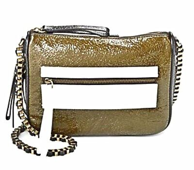 Treesje Morale Crackled Patent Leather Crossbody Bag New With Tags NWT