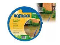 HOZELOCK Tricoflat drainage hose. 15m. New