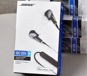 Brand New Bose QuietComfort 20 In-Ear Noise Cancelling Headphone