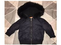 Black River Island Hooded Coat 6-9 Months