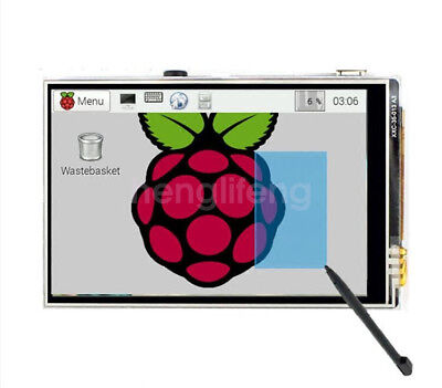 Latest 3.5 Inch Touch Screen Tft Lcd Display 128m Spi 60hz For Raspberry Pi