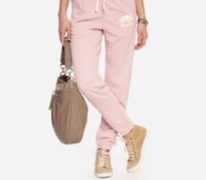 Pink roots sweat pants