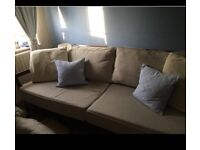 FREE......Cream/beige large sofa