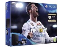 PlayStation 4 Slim 500GB FIFA 18 Console , Brand new sealed , Ideal christmas present