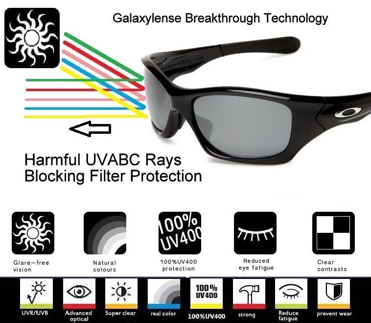 Galaxy Lentes De Repuesto Para Oakley M2 Gafas De Sol Marco Amarillo ...