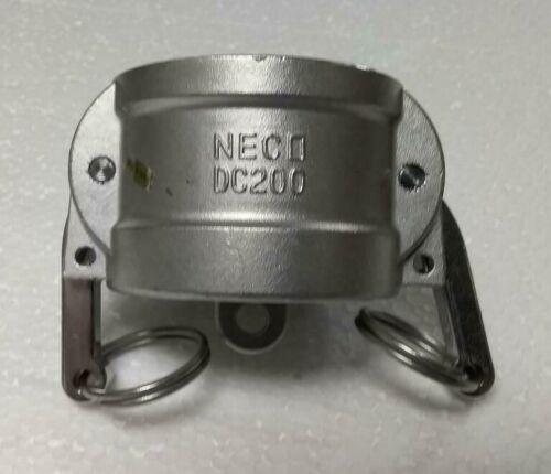 """Neco 2"""" Cam Lock Coupling DC200"""