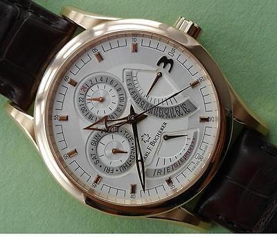 Carl F. Bucherer Manero Retrograde 00.10901.03.16.01 Pink Gold