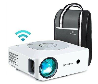 Proiettore WiFi, Videoproiettore 1080P Nativo Full HD, 7500 Lux, Touch Pannello