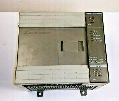 Allen Bradley Slc 500 1747-l20a Plc 20 Io