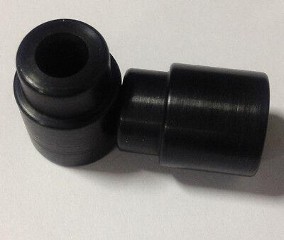 Eyelet Bushings Black Anodized 39.88mm width x 6mm ID Fits Fox 803-03-015