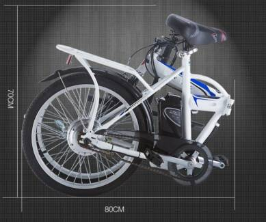 NEW ELECTRIC FOLDING BIKE BICYCLE. NO FUEL. NO REGO. NO LICENCE.