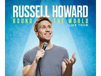 4 x Russell Howard Tickets (13th March 2017, Cardiff)