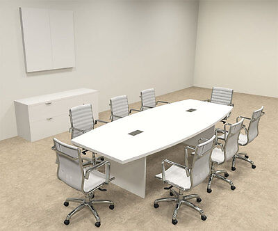 Modern Boat Shaped 10 Feet Conference Table Of-con-c122