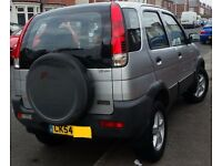 CHEAP 4X4 - 1.3cc - CHEAP TO RUN,TAX & INSURE, TOWN DRIVING OR OFF ROADING AS SWITCHABLE 4X4.