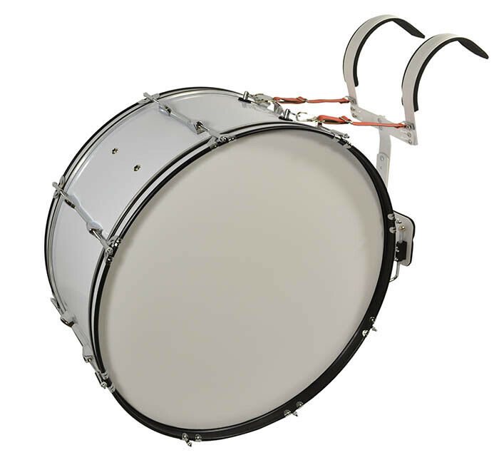 Bryce Marching Bass Drum 26 x 12 inches with adjustable shoulder frame