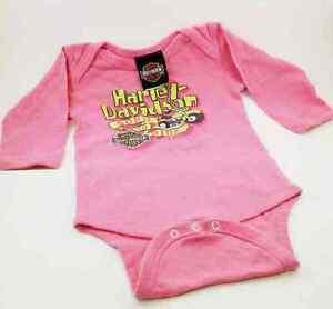 Barboteuse pour bébé fille, Harley Davidson, size 12 mois