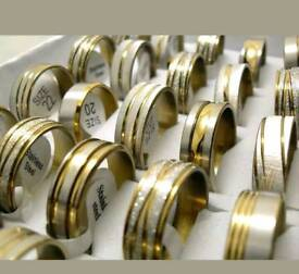 WHOLESALE CLEARANCE STAINLESS STEEL RINGS