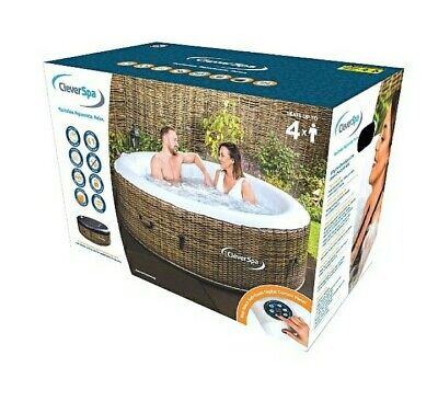 clever spa borneo 110 AirJets 4 Person Hot tub fast dispatch!