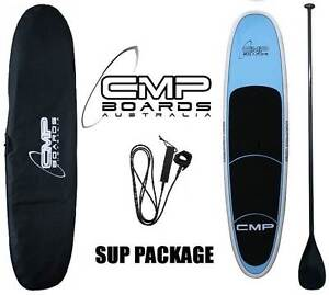 Stand Up Paddle Board SUP Package Carbon Paddle, Bag 10ft Erina Gosford Area Preview
