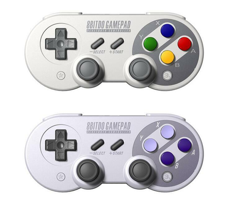 8Bitdo SN30/SF30 PRO Bluetooth Gamepad, Switch/macOS/Android/Windows/Rasp Pi Controllers & Attachments