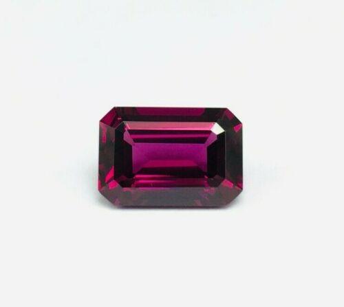 Topmost quality natural Rhodolite cut octagon shape Loose gemstone for designers