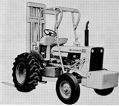 Case 580ck Forklift Operators Manual Owners Manual Instructions 580 Ck Tractor