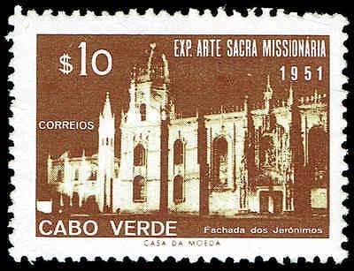 Scott # 293 - 1953 - ' Exhibition of Sacred Missionary Art, Lisbon '