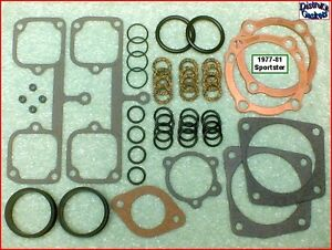 Top-End-Gasket-Kit-1977-81-Ironhead-Sportster-Harley-1000cc