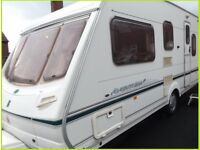 5 Berth Swift Abbey Luxury Touring Caravan Fixed bed Option Ace Sterling Group. REDUCED