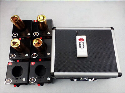 6 Cues Smart remote wedding Stage Fireworks Firing system Indoor outdoor Switch