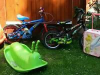 Bikes £6 each