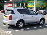 *NEW SHAPE* Rexton II 2.7 SX AWD same as Mercedes ML 270 M Class Jeep, nissan navara, land cruiser