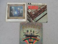 BEATLES PICTURE SLEEVE SINGLE + TWO EP's. PRICES VARY. ALL IN GOOD CONDITION