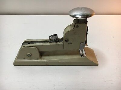 Vintage Swingline No. 13 Heavy Duty Office Speed Stapler Cream