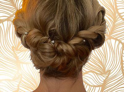 Diese Frisur kannst Du in fünf Minuten selber stylen. (© Nadja Katzenberger)