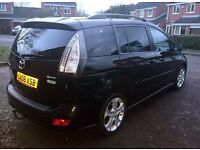 2008 Mazda5 2.0 Sport 5dr - 7 Seater with electric sliding doors, full leather - 6 speed - XENONS